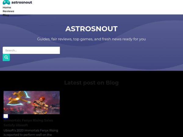 astrosnout.com