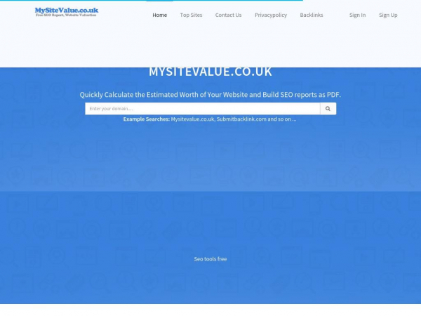 mysitevalue.submitbacklink.com